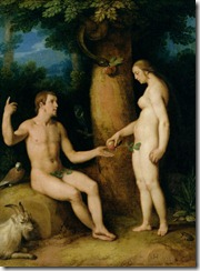 Adam and Eve - 07 - Cornelis Cornelisz Van Haarlem c 1622