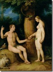 Adam and Eve - 07 - Cornelis Cornelisz Van Haarlem c 1622