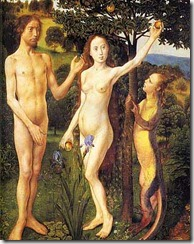 Adam and Eve - 12 - Hugo van der Goes c.1470