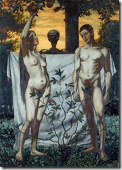 Adam and Eve - 22 - Hans Thoma (October 2, 1839 – November 7, 1924)