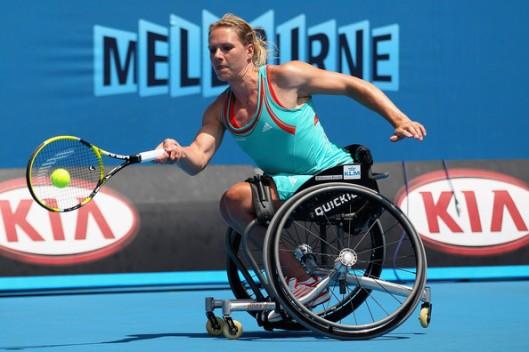 Esther Vergeer - 2012 Australian Open - Day 13