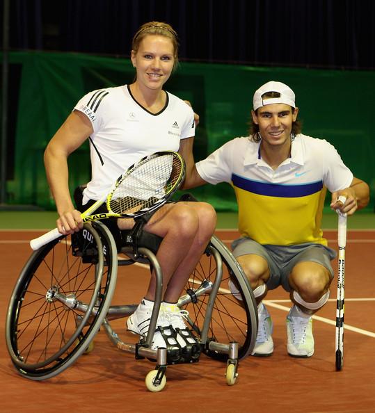 Esther Vergeer Rafael Nadal wheelchair tennis tenis