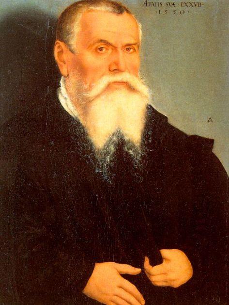 Self portrait by Lucas Cranach the Elder