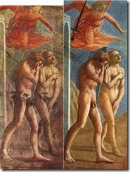 The Expulsion - Tommaso di Ser Giovanni di Simone alias Masaccio - c 1425
