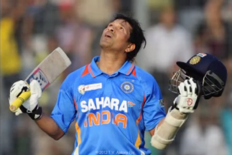 Living Indian Cricket Legend Sachin Tendulkar