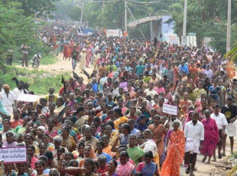 Kudankulam Protest rally - 01
