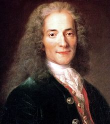 François-Marie Arouet ( 1694 – 1778), known by his nom de plume Voltaire. French Enlightenment writer, historian and philosopher.