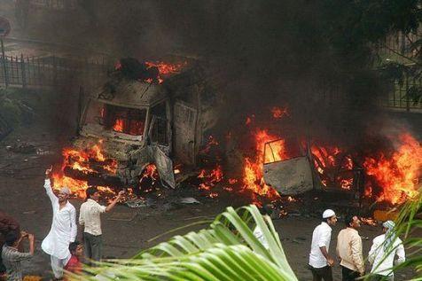 Assam burning