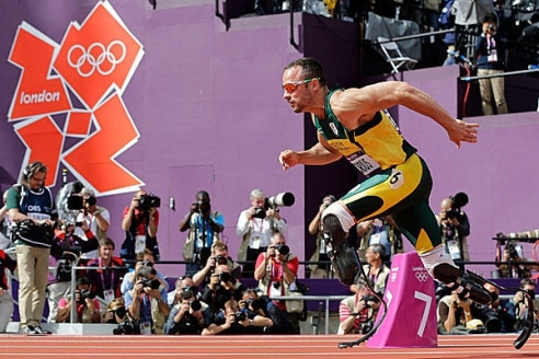 "Oscar ""Blade Runner"" Pistorius at London 2012 olympics"