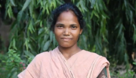 Sunita, a domestic helper at CMI