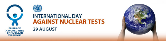 The International Day Against Nuclear Tests 2012 - Logo