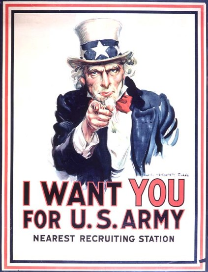 "James Montgomery Flagg 's - ""Uncle Sam"""