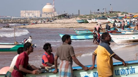 Anxious Fishermen and the Koodankulam Nuclear Plant