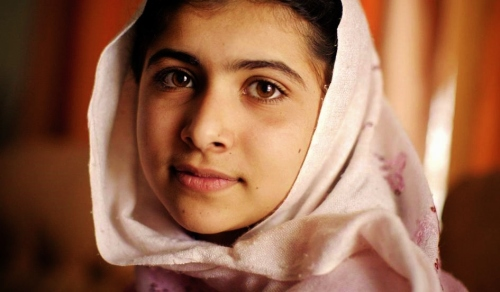 Malala Yousafzai in 2009 (Photo: Veronique de Viguerie / Getty Images)