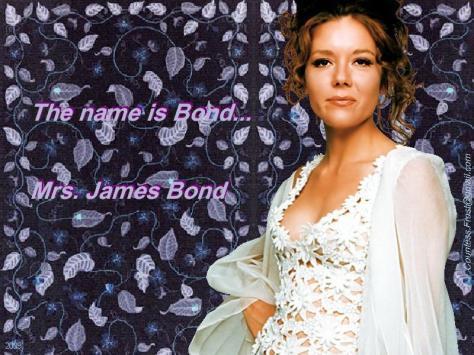 Mrs James Bond