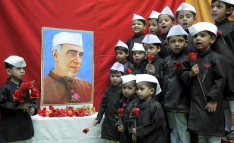 Nehru loves children