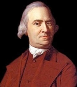 Samuel Adams -  one of the Founding Fathers of the United States.