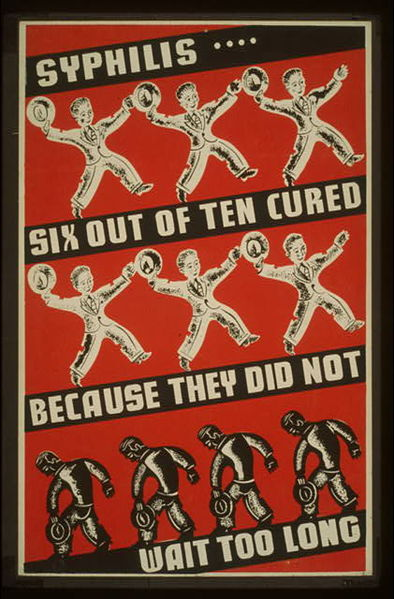 Syphilis-poster-wpa-cure