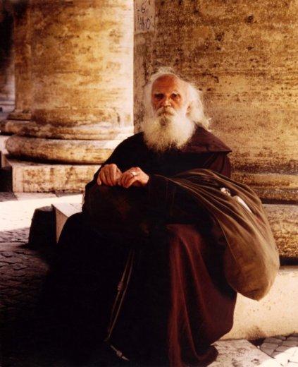 A Franciscan monk