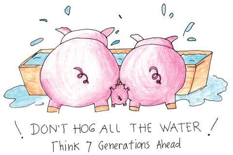 Don't hog