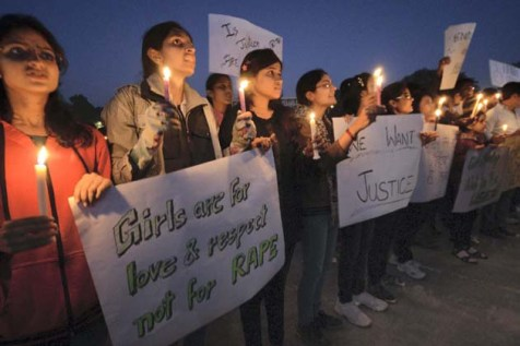 Peaceful Protest against Delhi gangrape