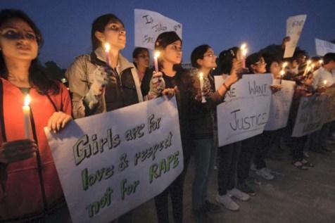 Peaceful Protest against Delhi gangrape