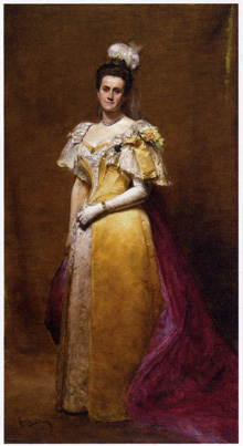 Portrait of Emily Warren Roebling by Charles-Emile-Auguste Carolus-Duran (French, 1838-1917)