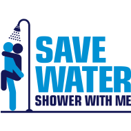 Save Water shower with me