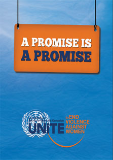 A promise is a promise - the theme for International Women's Day 2013
