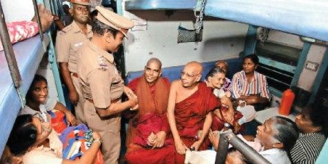 Attack on Buddhist Monks from Sri Lanka