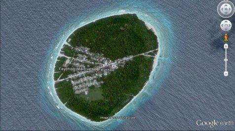 Feydhoo island, Maldives