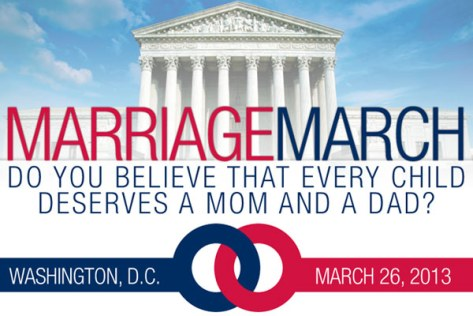 March for Marriage Success - Top