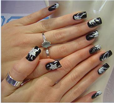 Nail art (Photo credit - Wikipedia)