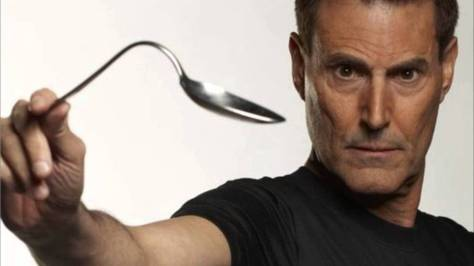 Israeli magician Uri Geller