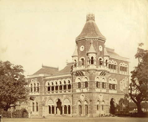 Alexandra Native Girls' English Institution, Bombay (Mumbai) Building 1890's