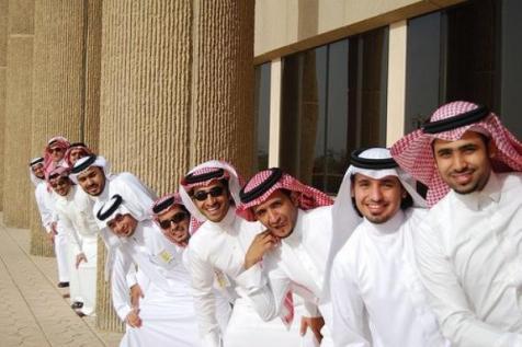 Handsome Arab men