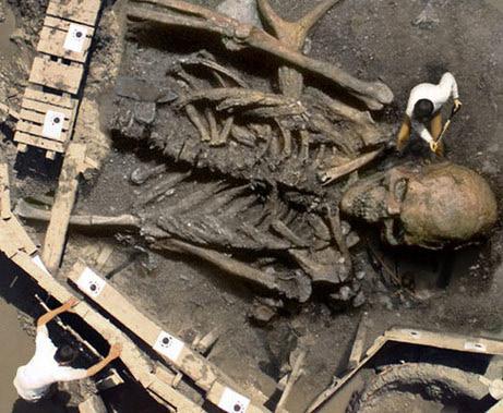 Bhima's son Gadotkach-like skeleton found