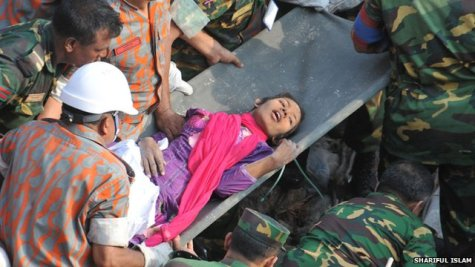 Reshma found alive in ruins 17 days after collapse of garment factory building