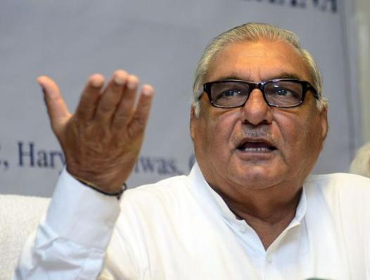Bhupinder Singh Hooda, Chief Minister of Haryana