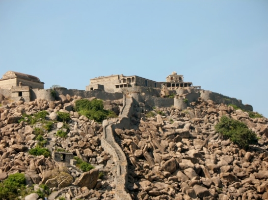 """Gingee Fort"" by Sean Patrick Doran selected for Google Earth."