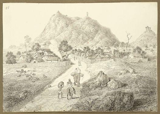 Semaphore telegraph Bihar1823