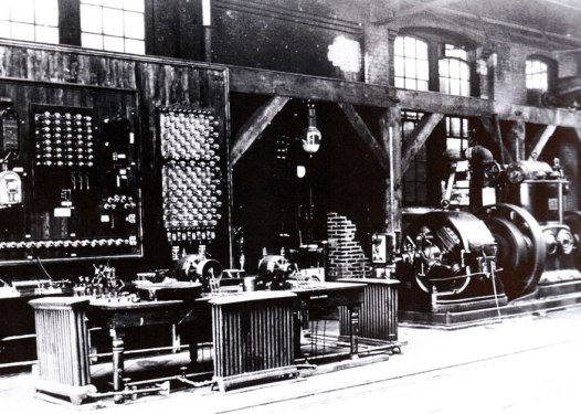 Laboratory where TEsla and Westinghouse engineers developed apparatus for AC systems.