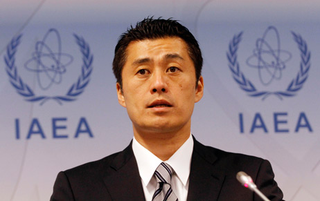 Japanese Environment Minister Goshi Hosono