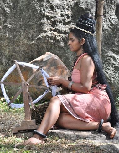 'Kuveni' portrayed by Dulani Anuruddha