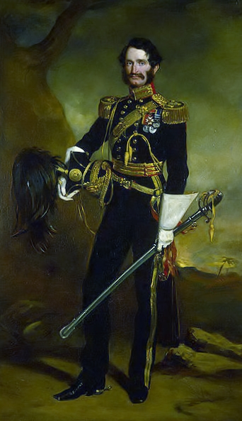 General Sir James Hope Grant GCB, painted in 1853 by his brother Francis Grant.