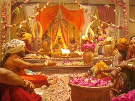 Prince Vijaya marries Pandya princess