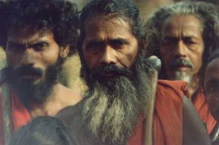 Wanniya-laeto ('Vedda') elders of Dambana. (Source: Vedda.org)