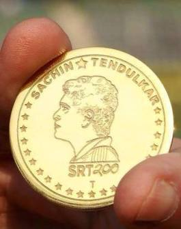 Gold Toss coin