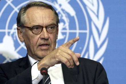 Jan Eliasson, Deputy Secretary-General of the United Nations,