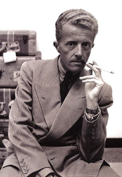 Paul Bowles (December 30, 1910 – November 18, 1999). An American expatriate composer, author, and translator.
